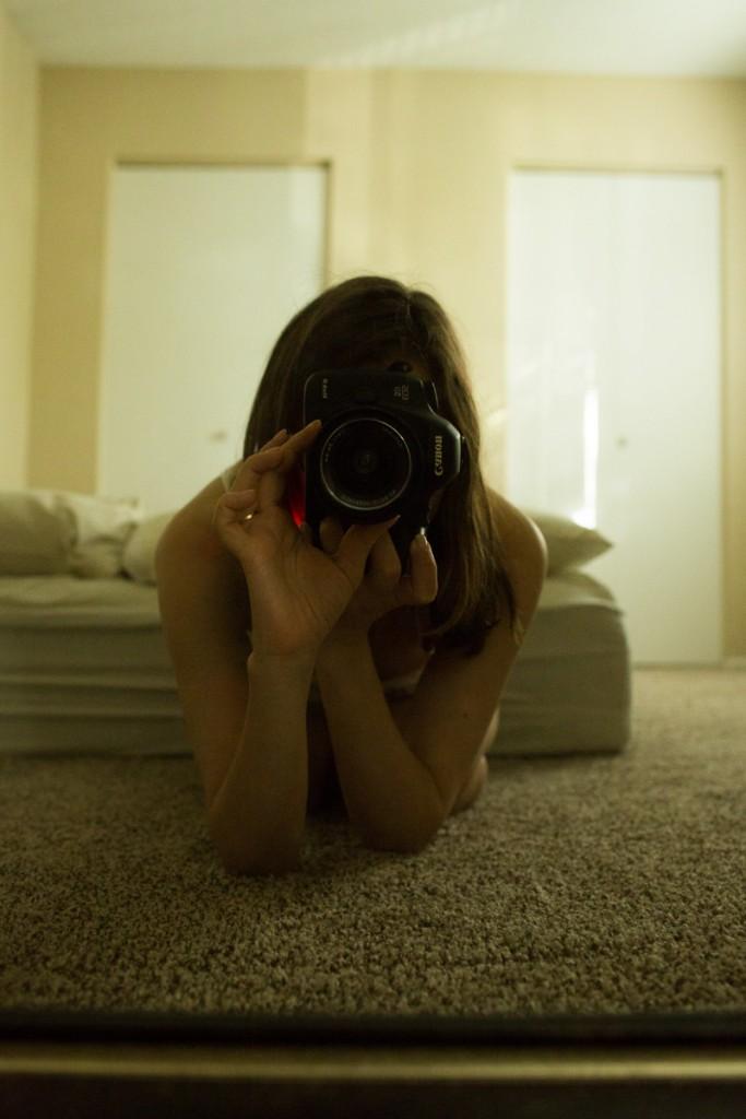 Annvie's - Austin - ombres et lumières - autoportrait