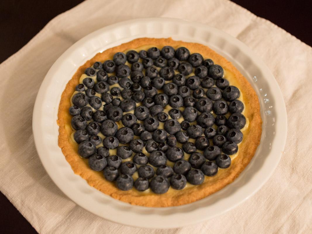 Annvie's - tarte aux myrtilles