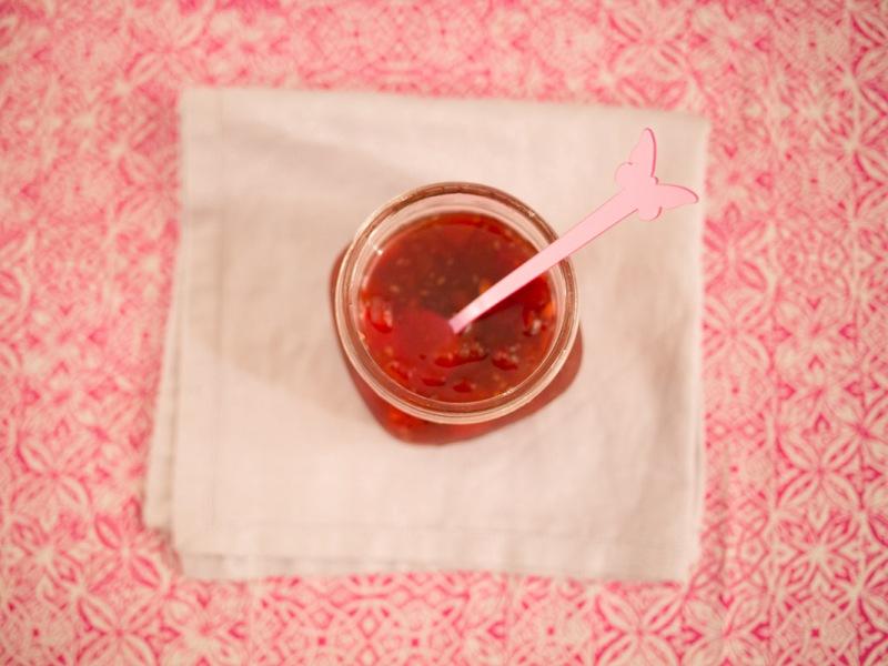 Annvie's - confiture de pastèque framboise