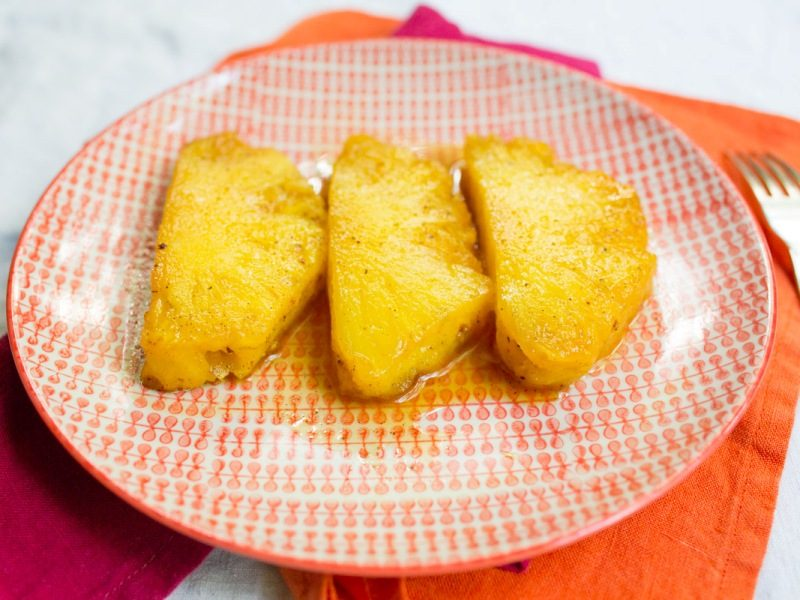Annvie's - ananas rôti à la vanille