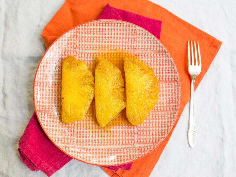 Annvie's - ananas rôti vanille tonka