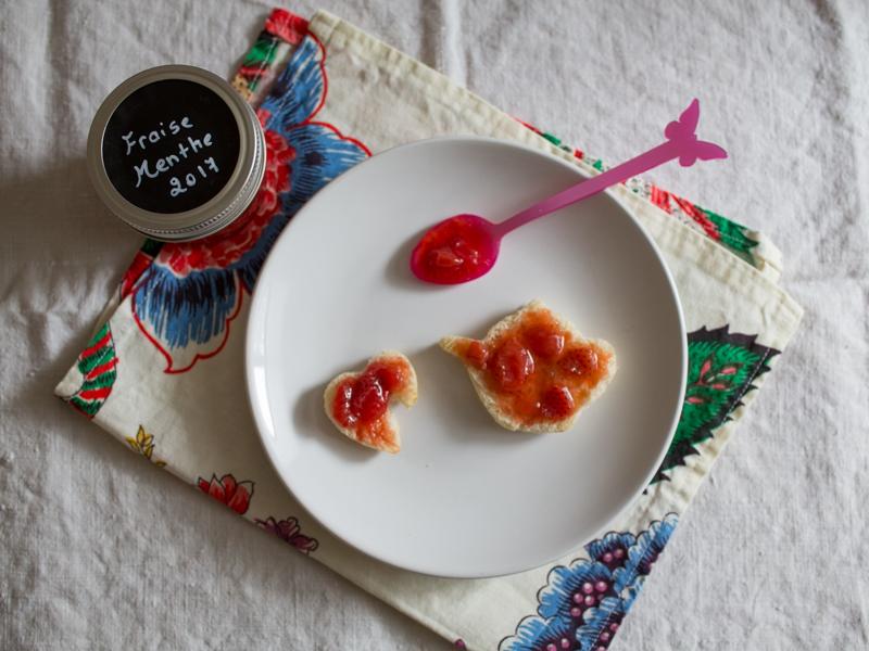 Annvie's - confiture fraise menthe
