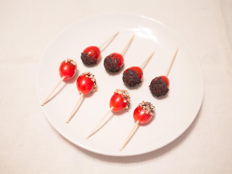 Annvie's - Tomates cerises caramélisées