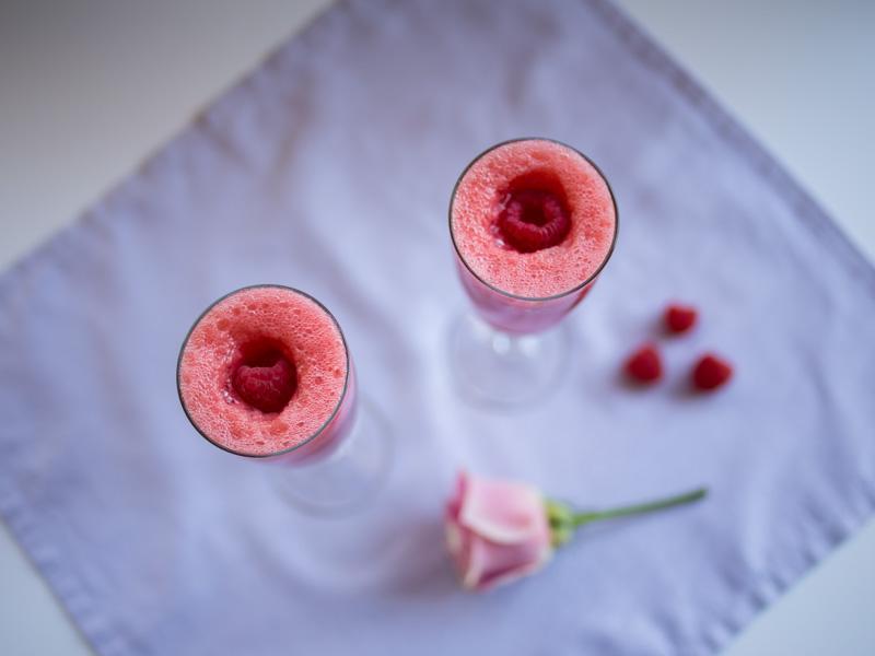 Annvie's - cocktail sans alcool pamplemousse rose framboise