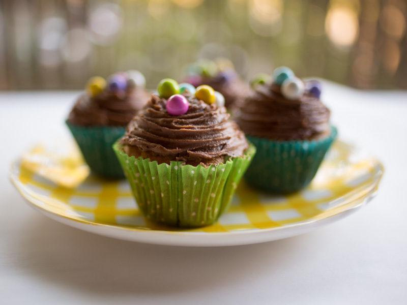 Annvie's - Cupcakes vanille chocolat de Pâques