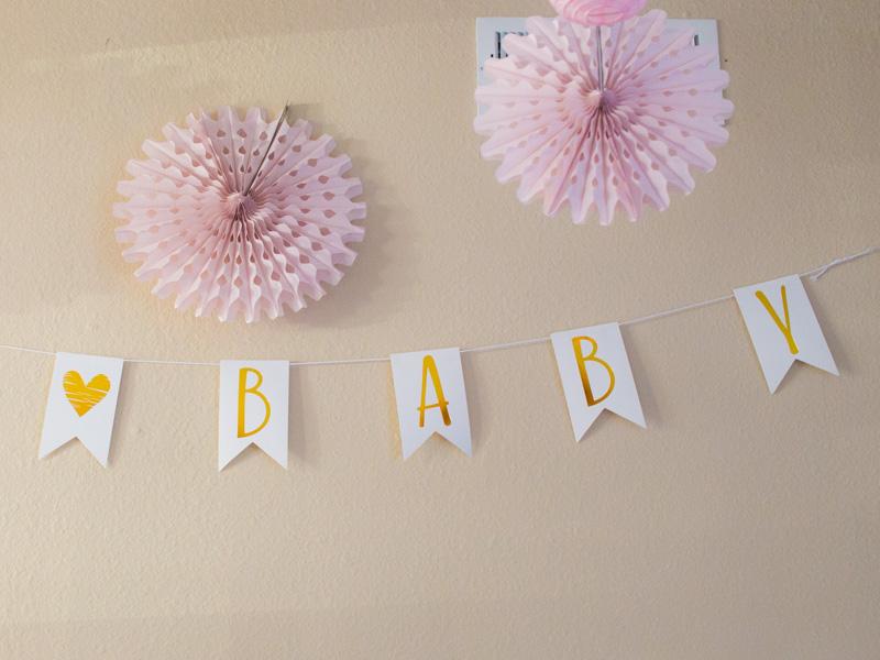 Annvie's baby shower