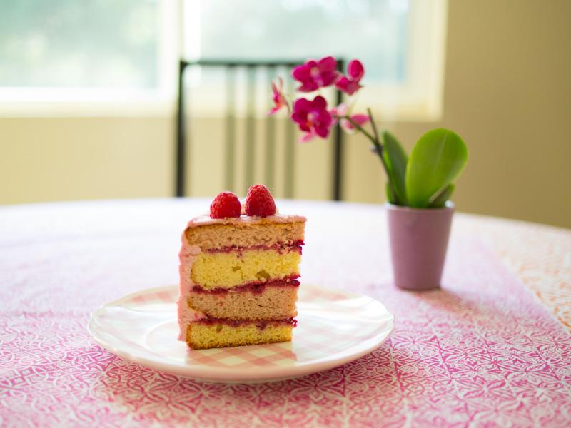Annvie's - layer cake framboises