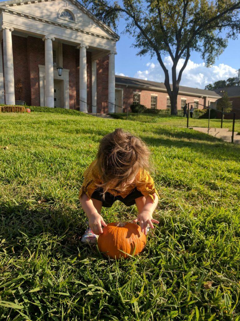 Pumpkin Patch avec Maëlle à Austin, une tradition aux États-Unis